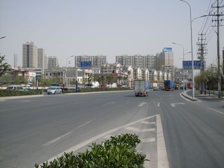 南环中路街道风景
